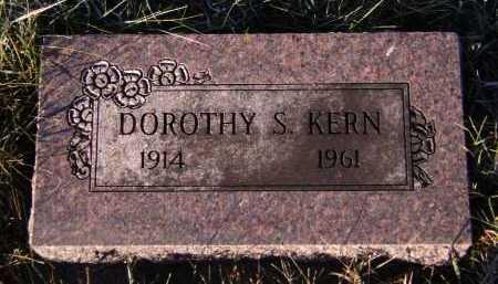 KERN, DOROTHY S - Moody County, South Dakota   DOROTHY S KERN - South Dakota Gravestone Photos