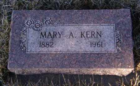 KERN, MARY A - Moody County, South Dakota   MARY A KERN - South Dakota Gravestone Photos