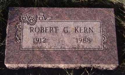 KERN, ROBERT G - Moody County, South Dakota | ROBERT G KERN - South Dakota Gravestone Photos