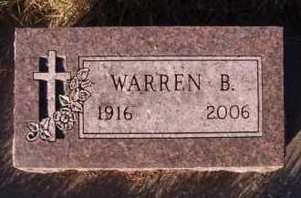 KERN, WARREN B - Moody County, South Dakota | WARREN B KERN - South Dakota Gravestone Photos