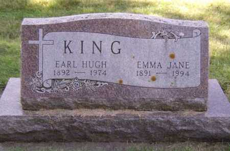 KING, EMMA JANE - Moody County, South Dakota | EMMA JANE KING - South Dakota Gravestone Photos