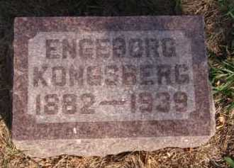 KONGSBERG, ENGEBORG - Moody County, South Dakota   ENGEBORG KONGSBERG - South Dakota Gravestone Photos