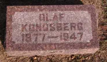 KONGSBERG, OLAF - Moody County, South Dakota | OLAF KONGSBERG - South Dakota Gravestone Photos