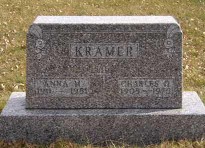 KRAMER, ANNA M - Moody County, South Dakota | ANNA M KRAMER - South Dakota Gravestone Photos