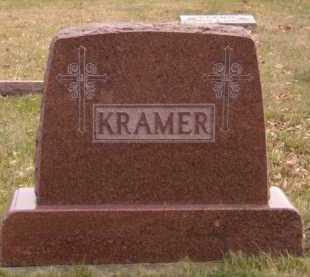 KRAMER, FAMILY - Moody County, South Dakota   FAMILY KRAMER - South Dakota Gravestone Photos