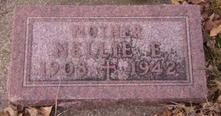 KRAMER, NELLIE E - Moody County, South Dakota   NELLIE E KRAMER - South Dakota Gravestone Photos