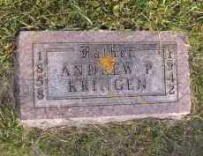 KRINGEN, ANDREW P - Moody County, South Dakota   ANDREW P KRINGEN - South Dakota Gravestone Photos
