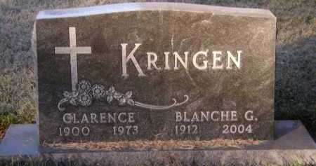 KRINGEN, CLARENCE - Moody County, South Dakota | CLARENCE KRINGEN - South Dakota Gravestone Photos