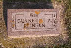 KRINGEN, GUNNERIUS A - Moody County, South Dakota | GUNNERIUS A KRINGEN - South Dakota Gravestone Photos