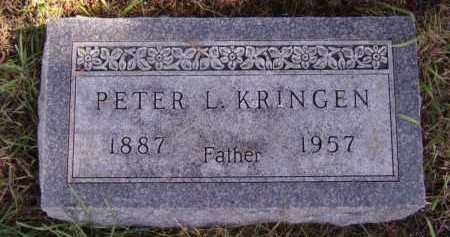 KRINGEN, PETER L - Moody County, South Dakota | PETER L KRINGEN - South Dakota Gravestone Photos