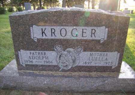 KROGER, ADOLPH - Moody County, South Dakota | ADOLPH KROGER - South Dakota Gravestone Photos