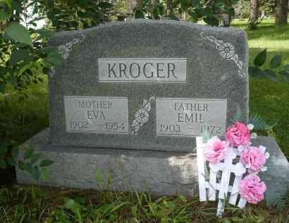 KROGER, EVA - Moody County, South Dakota | EVA KROGER - South Dakota Gravestone Photos