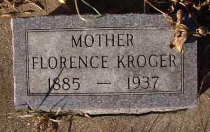 KROGER, FLORENCE - Moody County, South Dakota | FLORENCE KROGER - South Dakota Gravestone Photos