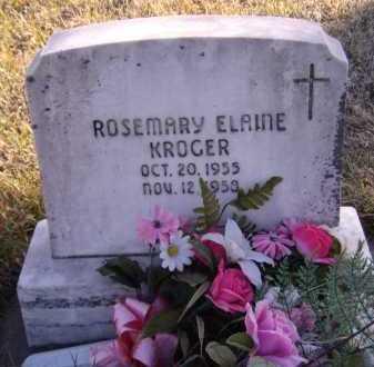 KROGER, ROSEMARY ELAINE - Moody County, South Dakota | ROSEMARY ELAINE KROGER - South Dakota Gravestone Photos