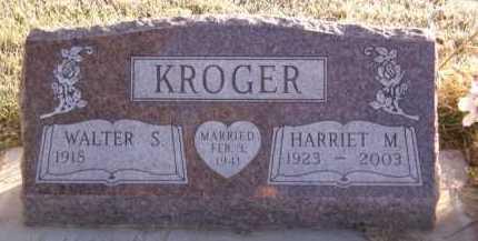 KROGER, HARRIET M - Moody County, South Dakota | HARRIET M KROGER - South Dakota Gravestone Photos
