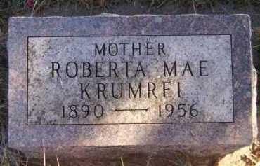 KRUMREI, ROBERTA MAE - Moody County, South Dakota | ROBERTA MAE KRUMREI - South Dakota Gravestone Photos