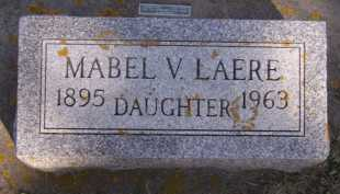 LAERE, MABEL V - Moody County, South Dakota | MABEL V LAERE - South Dakota Gravestone Photos