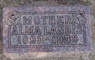 LANDIS, ALMAM - Moody County, South Dakota | ALMAM LANDIS - South Dakota Gravestone Photos