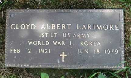 LARIMORE, CLOYD ALBERT - Moody County, South Dakota | CLOYD ALBERT LARIMORE - South Dakota Gravestone Photos