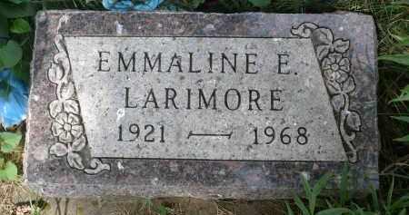 LARIMORE, EMMALINE ELEANOR - Moody County, South Dakota | EMMALINE ELEANOR LARIMORE - South Dakota Gravestone Photos