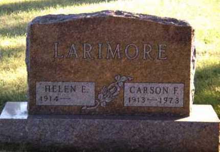 LARIMORE, HELEN ELIZABETH - Moody County, South Dakota | HELEN ELIZABETH LARIMORE - South Dakota Gravestone Photos
