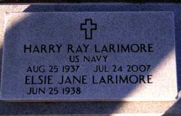 LARIMORE, HARRY RAY - Moody County, South Dakota | HARRY RAY LARIMORE - South Dakota Gravestone Photos
