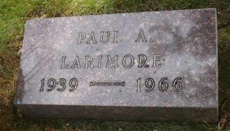 LARIMORE, PAUL ALBERT - Moody County, South Dakota | PAUL ALBERT LARIMORE - South Dakota Gravestone Photos