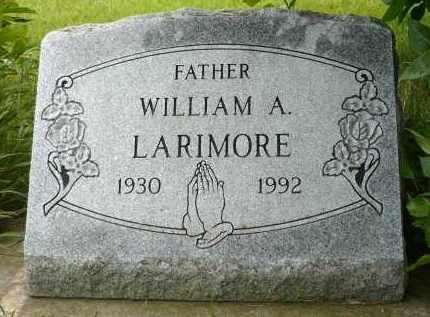LARIMORE, WILLIAM A. - Moody County, South Dakota   WILLIAM A. LARIMORE - South Dakota Gravestone Photos