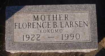 "LARSEN, FLORENCE B ""KOKOMO"" - Moody County, South Dakota 