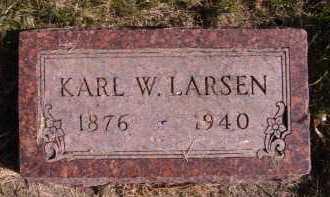 LARSEN, KARL W - Moody County, South Dakota | KARL W LARSEN - South Dakota Gravestone Photos