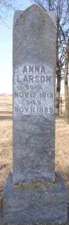LARSON, ANNA - Moody County, South Dakota | ANNA LARSON - South Dakota Gravestone Photos