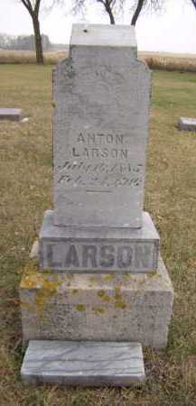 LARSON, ANTON - Moody County, South Dakota   ANTON LARSON - South Dakota Gravestone Photos
