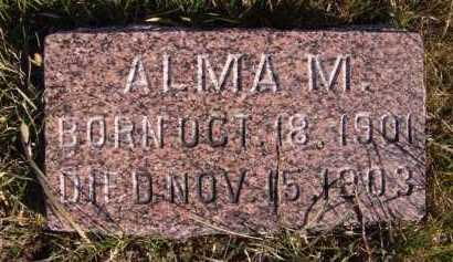 LARSON, ALMA M - Moody County, South Dakota   ALMA M LARSON - South Dakota Gravestone Photos