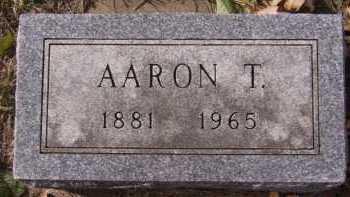 LARSON, AARON T - Moody County, South Dakota   AARON T LARSON - South Dakota Gravestone Photos