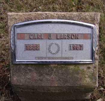 LARSON, CARL J - Moody County, South Dakota | CARL J LARSON - South Dakota Gravestone Photos