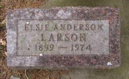 LARSON, ELSIE - Moody County, South Dakota   ELSIE LARSON - South Dakota Gravestone Photos