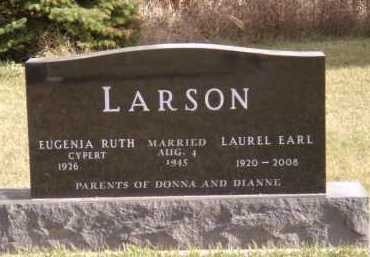 LARSON, LAUREL EARL - Moody County, South Dakota | LAUREL EARL LARSON - South Dakota Gravestone Photos