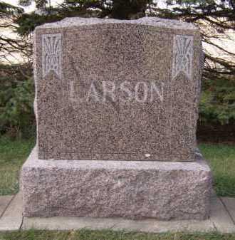 LARSON, FAMILY - Moody County, South Dakota   FAMILY LARSON - South Dakota Gravestone Photos