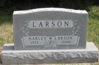 LARSON, HARLEY W - Moody County, South Dakota | HARLEY W LARSON - South Dakota Gravestone Photos