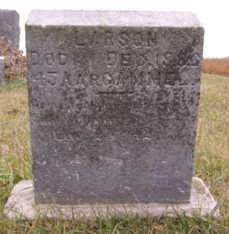 LARSON, JOHAN - Moody County, South Dakota | JOHAN LARSON - South Dakota Gravestone Photos