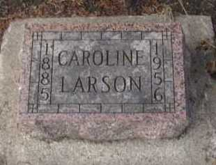LARSON, CAROLINE - Moody County, South Dakota   CAROLINE LARSON - South Dakota Gravestone Photos