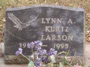 LARSON, LYNN A - Moody County, South Dakota   LYNN A LARSON - South Dakota Gravestone Photos