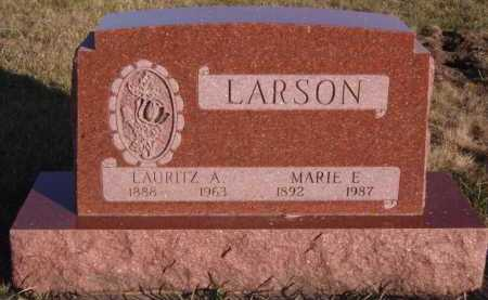 LARSON, LAURITZ A - Moody County, South Dakota | LAURITZ A LARSON - South Dakota Gravestone Photos