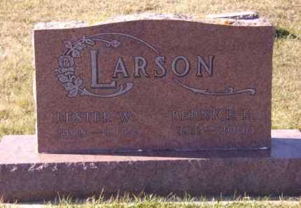 LARSON, BERNICE E - Moody County, South Dakota | BERNICE E LARSON - South Dakota Gravestone Photos