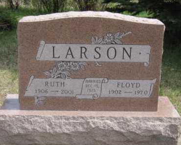 LARSON, RUTH - Moody County, South Dakota   RUTH LARSON - South Dakota Gravestone Photos