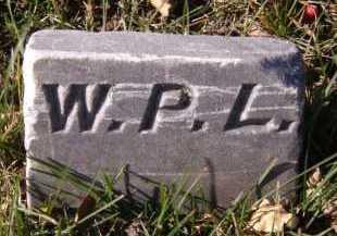 LARSON, WILBUR P (FOOTSTONE) - Moody County, South Dakota | WILBUR P (FOOTSTONE) LARSON - South Dakota Gravestone Photos