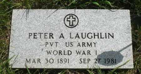 LAUGHLIN, PETER A. - Moody County, South Dakota   PETER A. LAUGHLIN - South Dakota Gravestone Photos