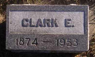 LEACH, CLARK E - Moody County, South Dakota   CLARK E LEACH - South Dakota Gravestone Photos