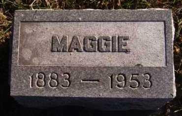 LEACH, MAGGIE - Moody County, South Dakota   MAGGIE LEACH - South Dakota Gravestone Photos