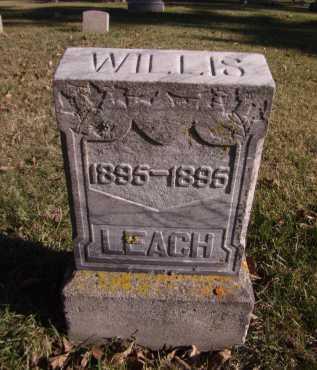 LEACH, WILLIS - Moody County, South Dakota | WILLIS LEACH - South Dakota Gravestone Photos